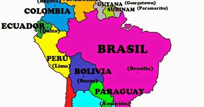 6to Grado Don Bosco Rawson Mapa con sus capitales