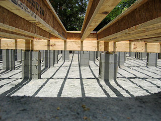 Build or remodel your own house fill dirt for raised for Raised foundation vs slab