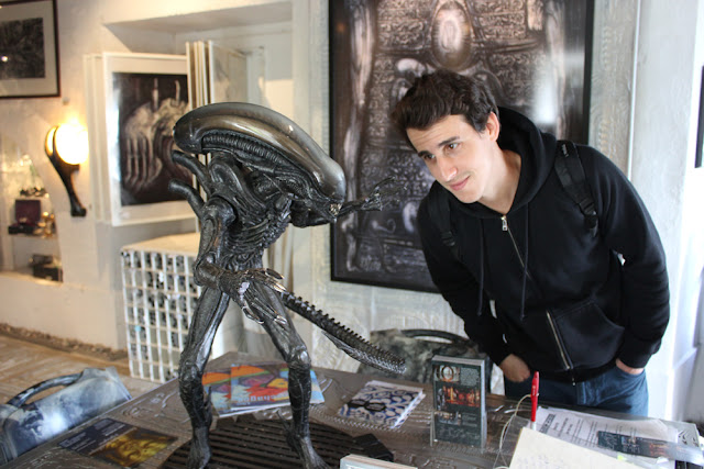 HR Giger Museum, Gruyere, Switzerland
