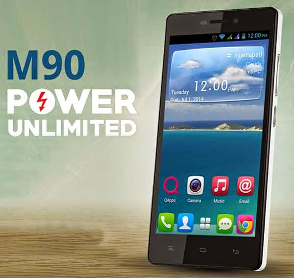 QMobile Noir M90 with Powerful Battery
