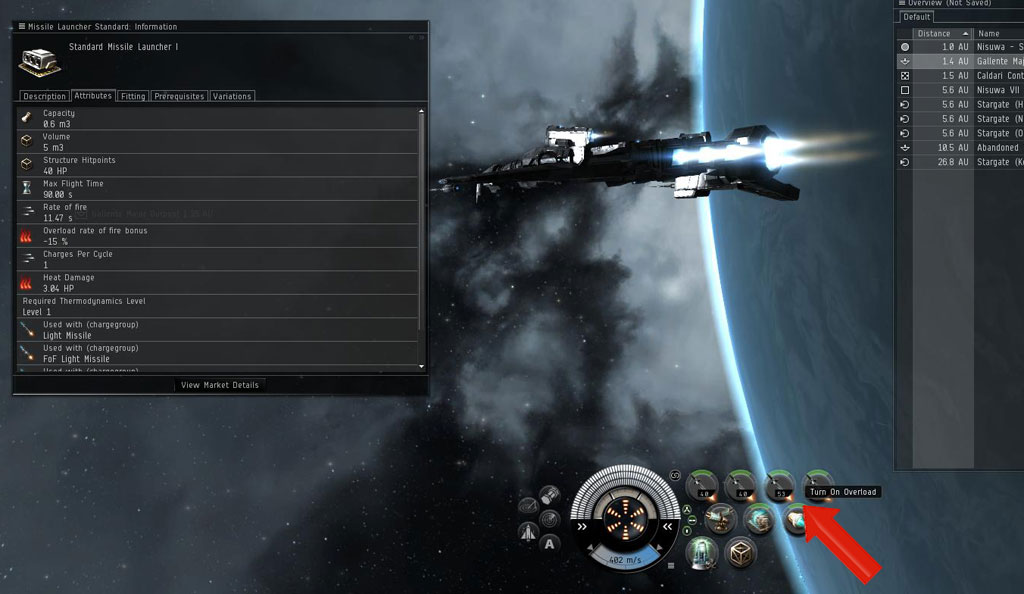 eve online low slot speed