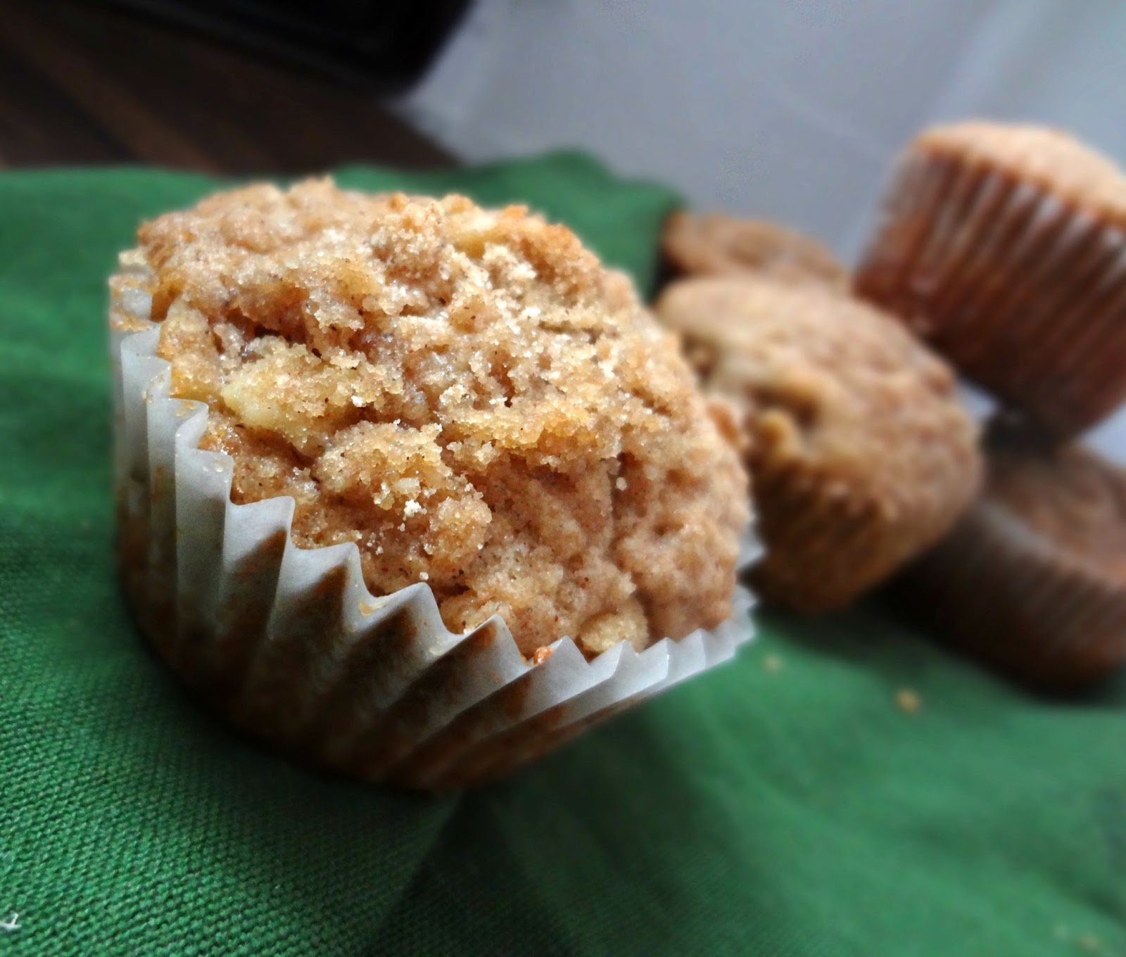 The Cooking Actress: Coffee Cake Muffins with @ZulkaSugar