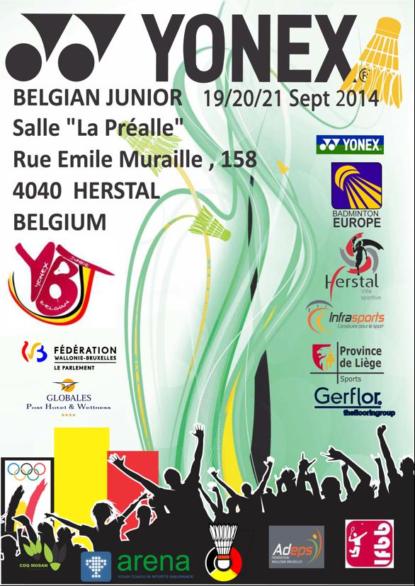 Internacionais Juniores da Bélgica