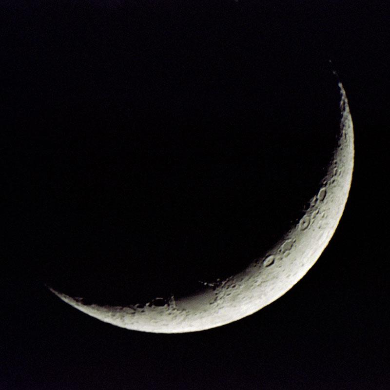 رؤية هلال رمضان 1435 هــ - مدونة الفلك للجميع
