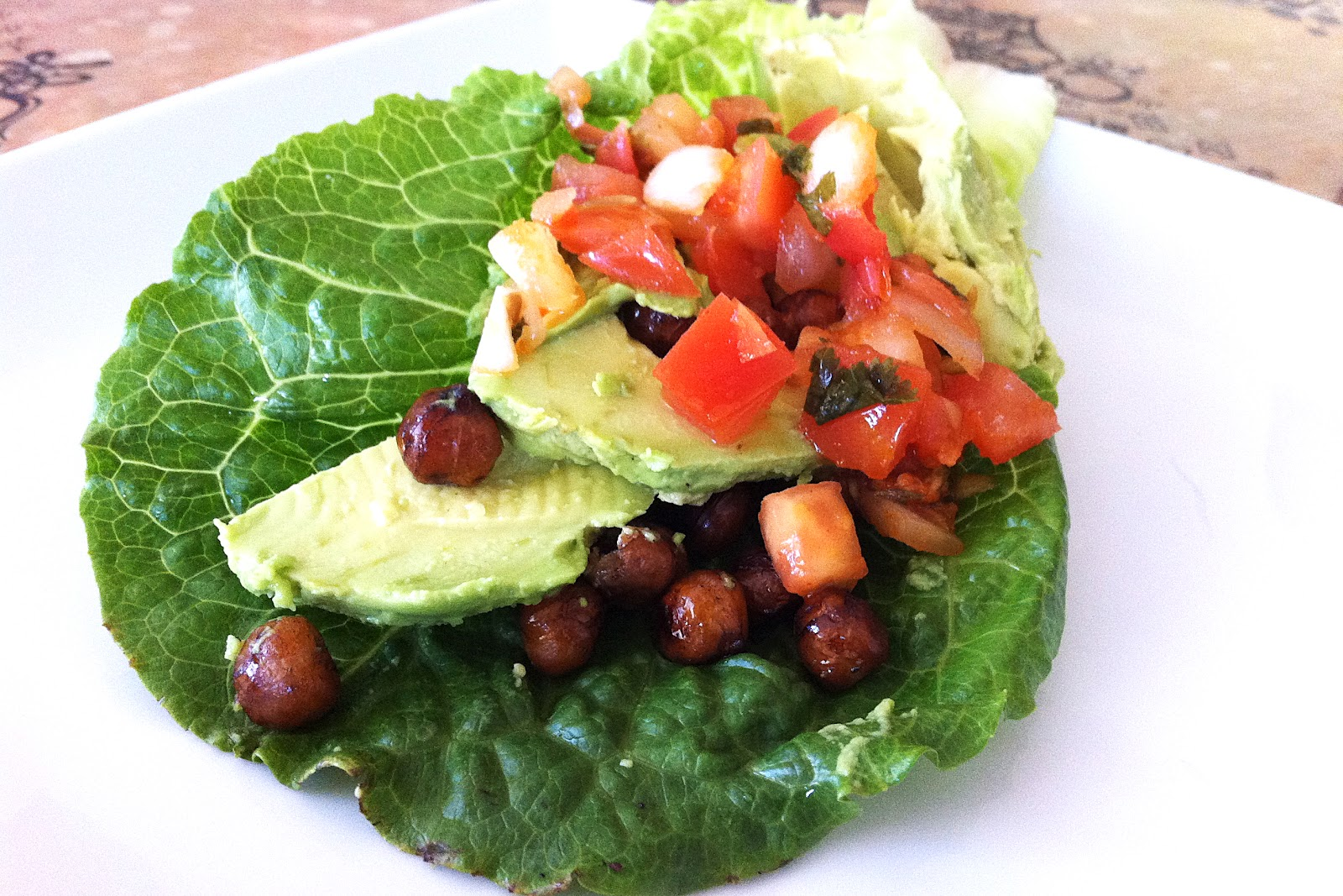Made to Create: Balsamic Roasted Chickpea Salad & Wrap