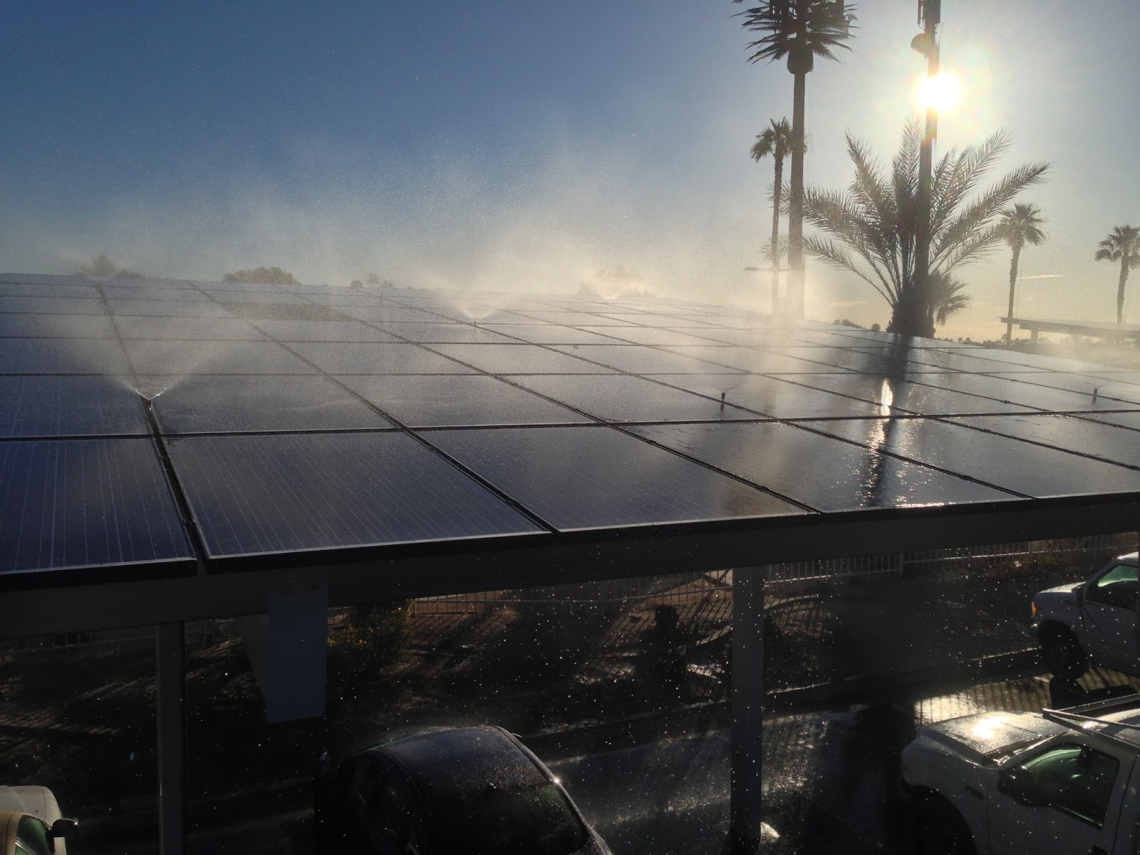 Heliotex System At Palm Springs Ford Is Now Completed