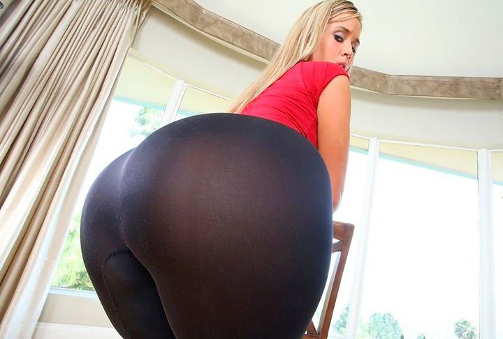 ass in yoga pants