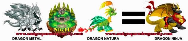 como obtener el dragon ninja en dragon city formula 1