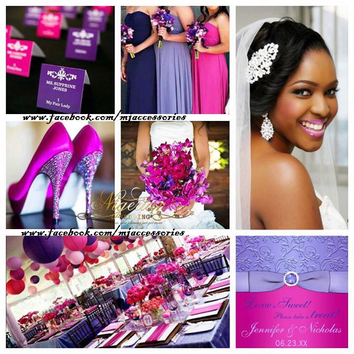 Moji Ajayis Blog Wedding Color Combo