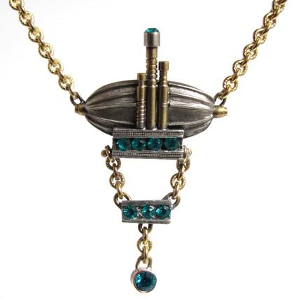Steampunk Airship Necklace