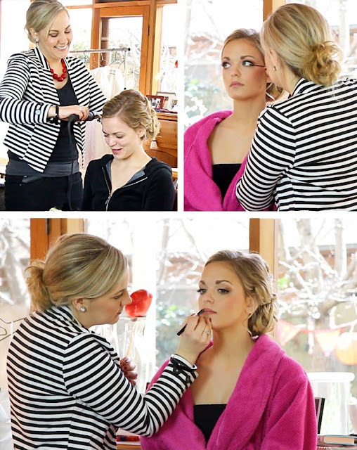 Backstage Hair and Makeup by Adelaide Makeup Artist, Katie Dawson -  Perle Jewellery & Makeup