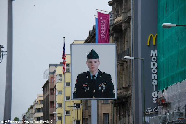 Checkpoint Charlie, Former East Berlin, American Soldier, Germany