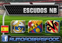 Escudos nb para Campeonato Espanhol no Brasfoot 2013