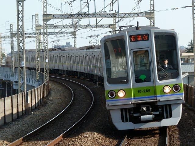 京王電鉄 各停 若葉台行き8 都営10-000形280F