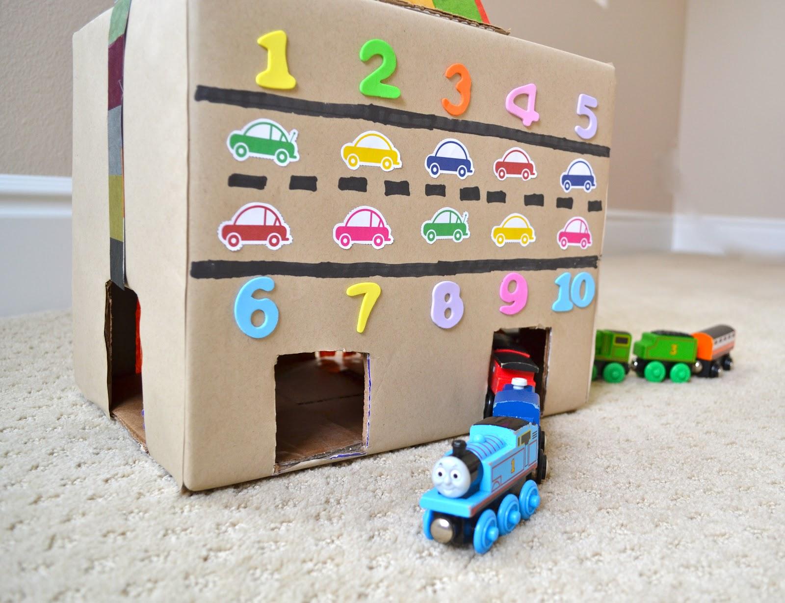 Turn A Cardboard Box Into A Train Amp Car Tunnel Color