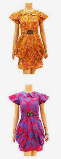 model pakaian batik 2013