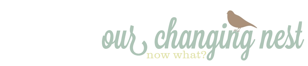 Our Changing Nest:  Now What?