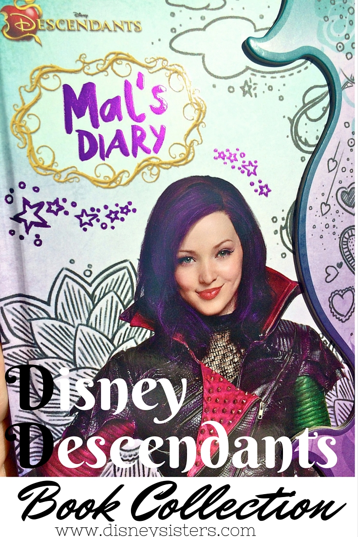 Descendants: Mal's Diary, Disney Descendants by Disney Book Group Hardcover 2015