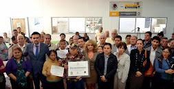 Entrega Ayuntamiento nombramientos a Jefes de Manzana de la zona este