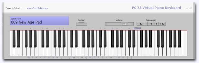 Как сделать фортепиано из клавиатуры