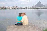 Nos na Lagoa Rodrigo de Freitas