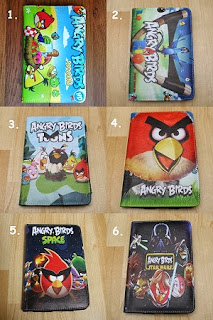 leather case tablet murah angry bird