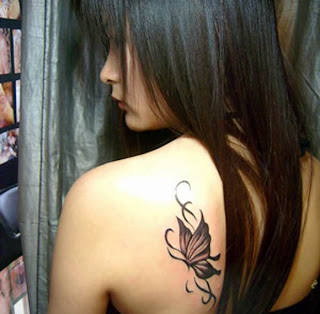 Butterfly Tribal Tattoos Designs