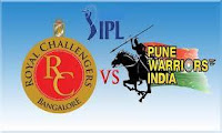 Watch Live IPL 6 Video Streaming HD Cricket 2013 Indian Premier League 31st match rcb vs pwi.