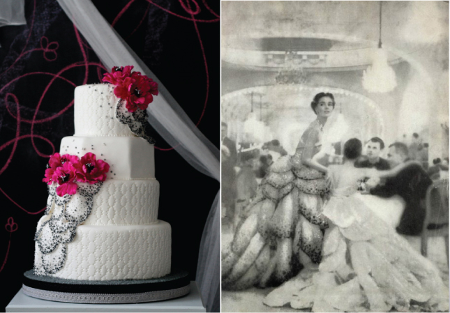 Fashion Inspired Cakes Lace Wedding Cakes Part 1 and Part 2