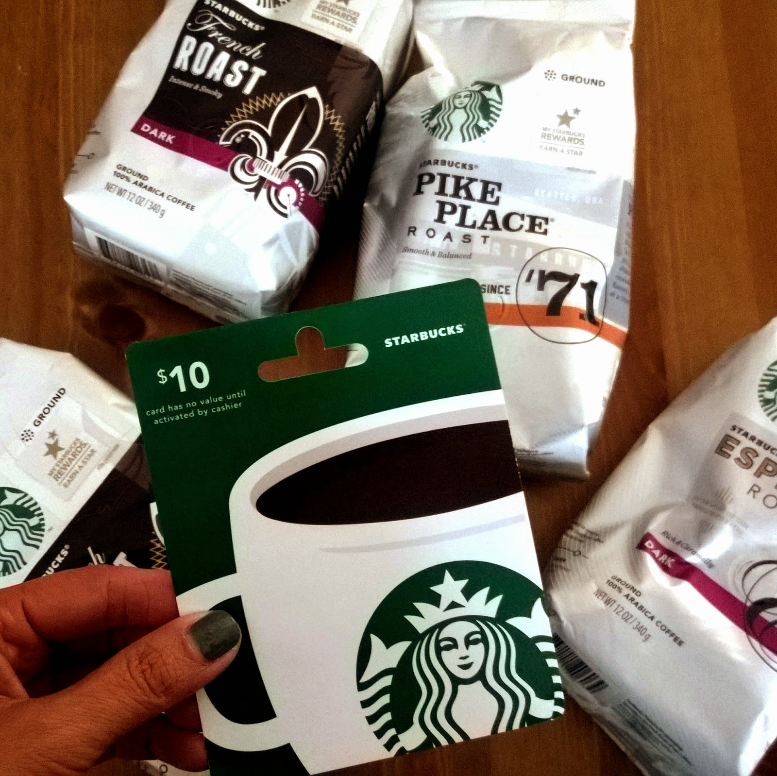 Starbucks variety at Target