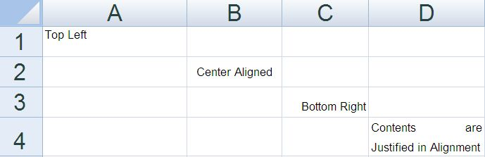 Excel Horizontal Vertical Cell Alignment - Java POI Example ...