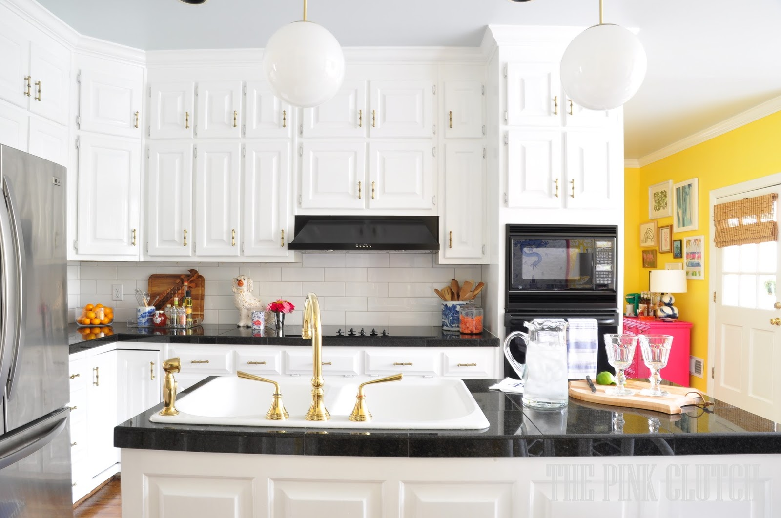 the pink clutch ...: One Room Challenge ... Kitchen Reveal