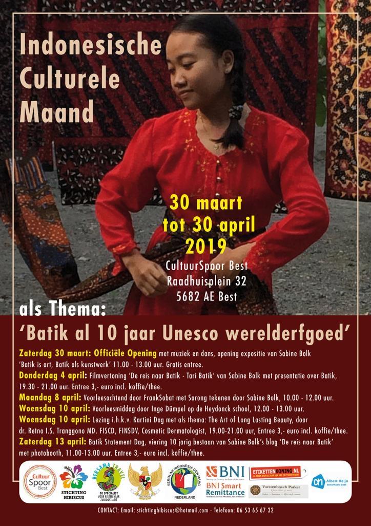 Exhibition 'Batik is Art, Batik als kunstwerk'