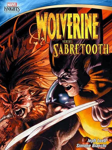 Wolverine vs Sabretooth by Simone Bianchi