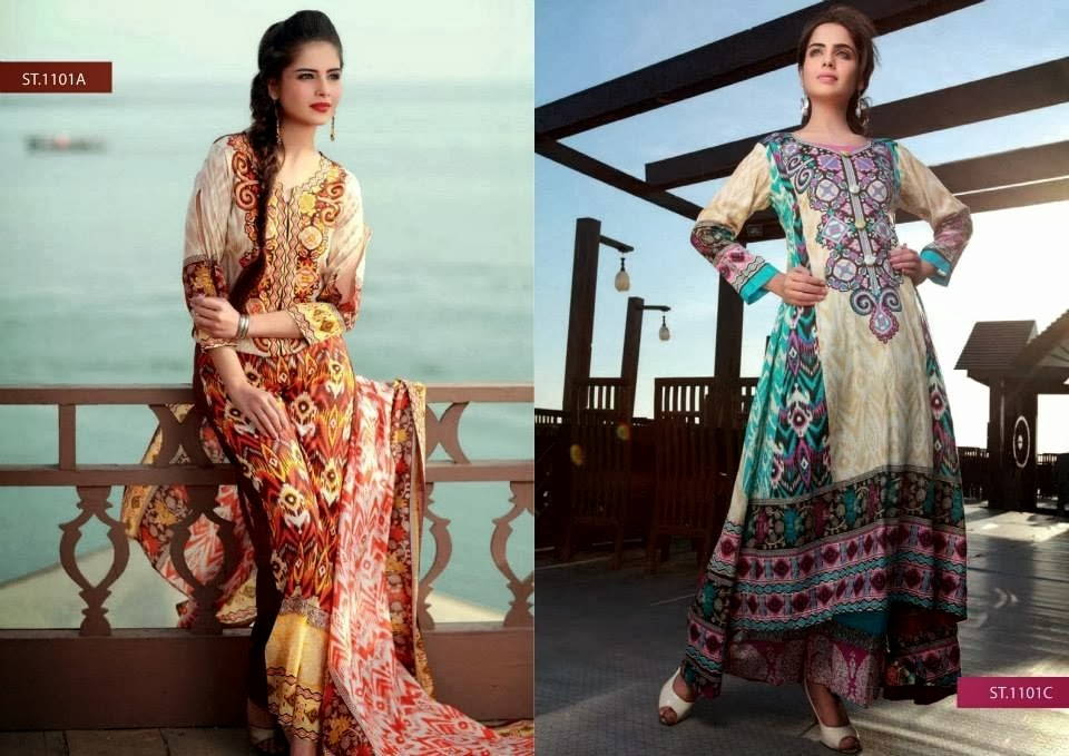 Latest Lawn Fashion Designs