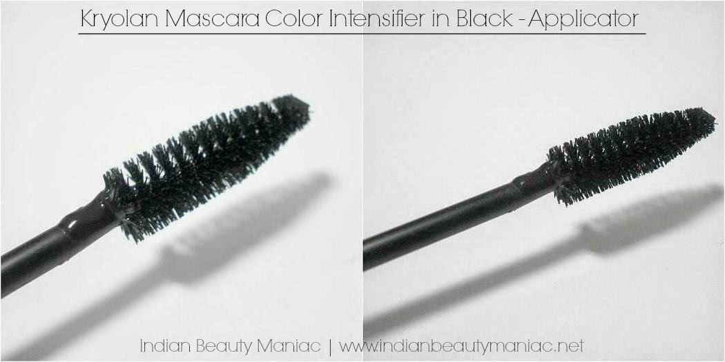 Kryolan Color Intensifier Mascara in Black Applicator