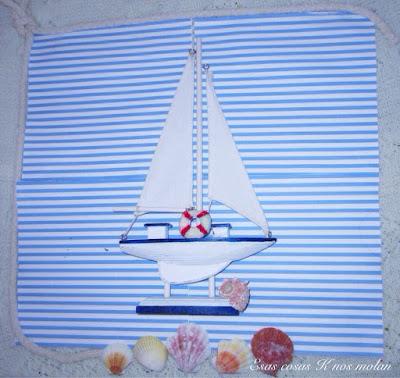 velero decorado