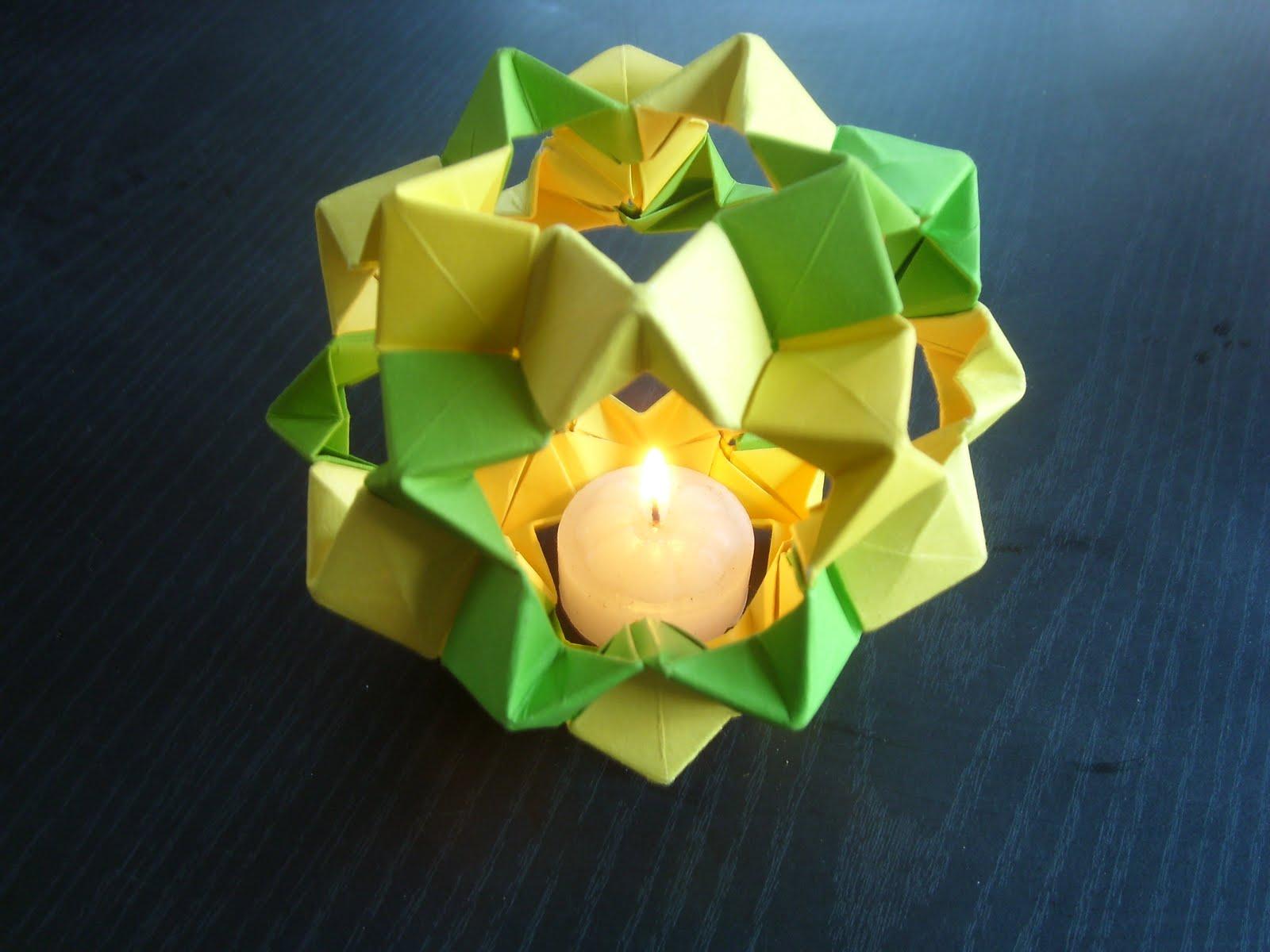 Origami Decoracion Pared ~ Souvenirs y decoraci?n para ocasiones especiales Velas Origami
