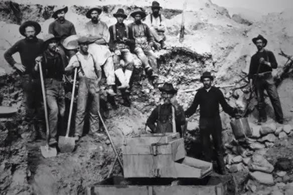 Mineradores e suas calças