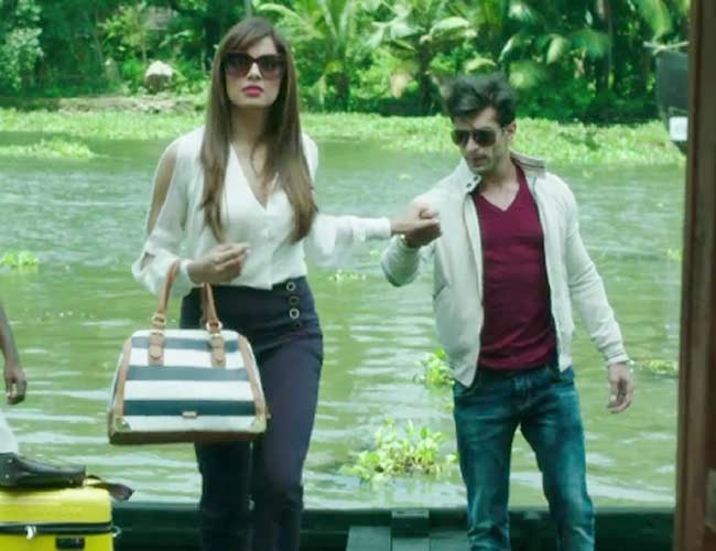 Bipasha Basu with Karan Singh Grover in Alone