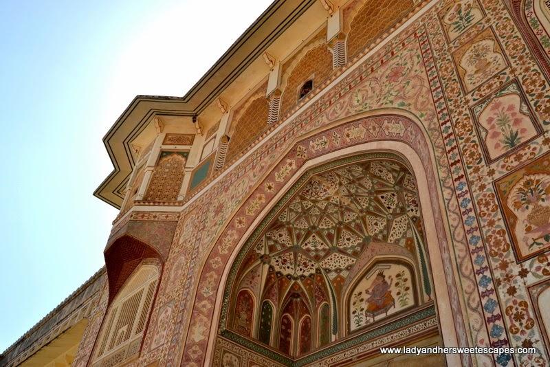 Ganesh Pol in Amber Fort Jaipur