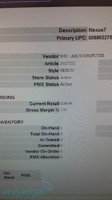 Nexus 7 2 pricing and inventory photo