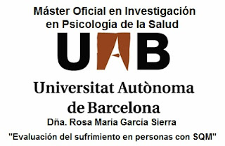 TIENES SQM Y QUIERES PARTICIPAR EN UNA INVESTIGACIN ONLINE?  &#8220;Evaluacin del sufrimiento en personas con sensibilidad qumica mltiple&#8221; (UAB. 2012)