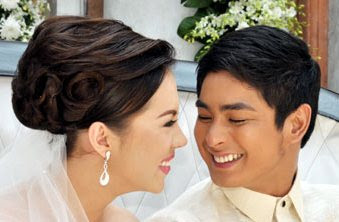 Julia Montes (Katerina) and Coco Martin (Daniel) Wedding in Walang Hanggan
