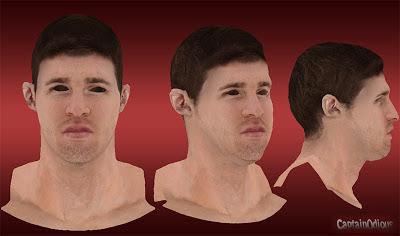 NBA 2K13 Aron Baynes Cyberface Mod