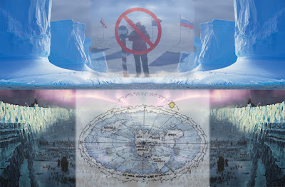 200 Proofs Earth is Not a Spinning Ball No-south-pole