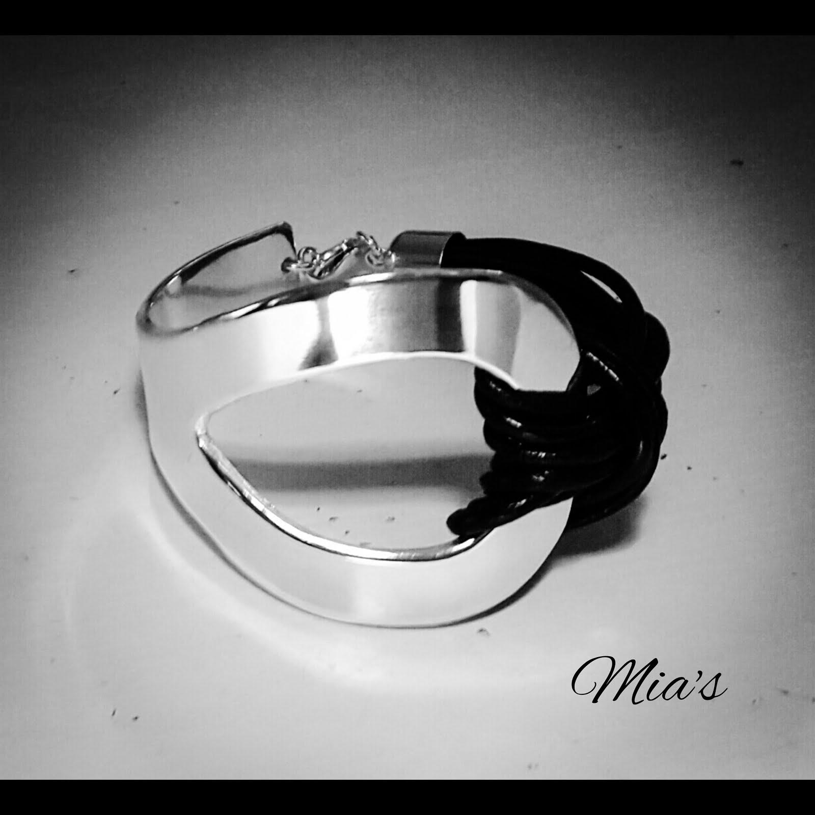 Silver och läder