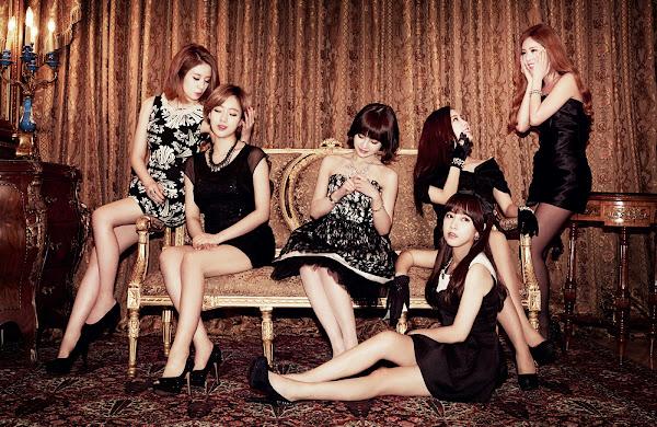 T-ara Gossip Girls Concept