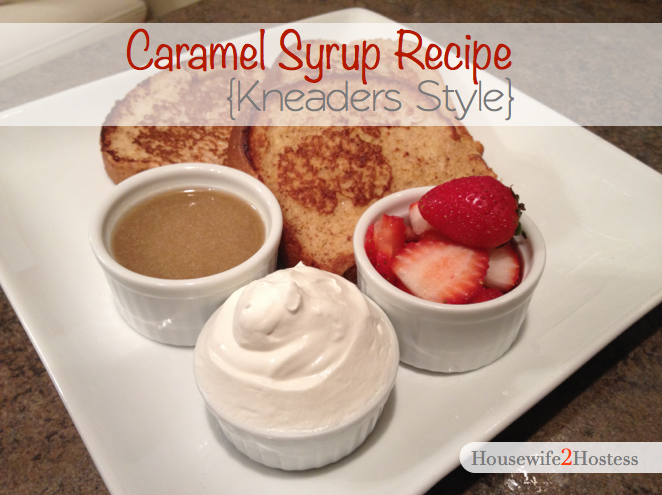 Caramel Syrup {Kneaders Style}