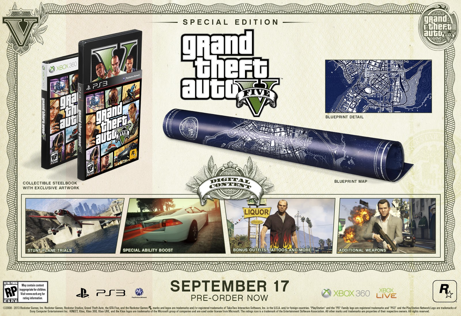 The games of chance gta v special editions announced gta v special editions announced malvernweather Gallery